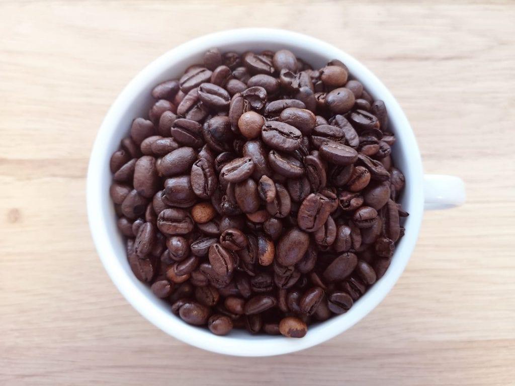 kaffemaskin på arbeidsplassen